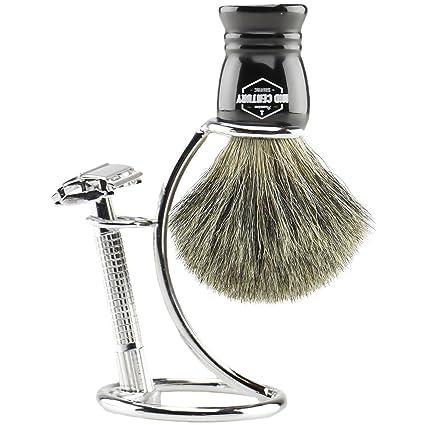 Amazon.com: Kit para afeitar con rasuradora segura ...