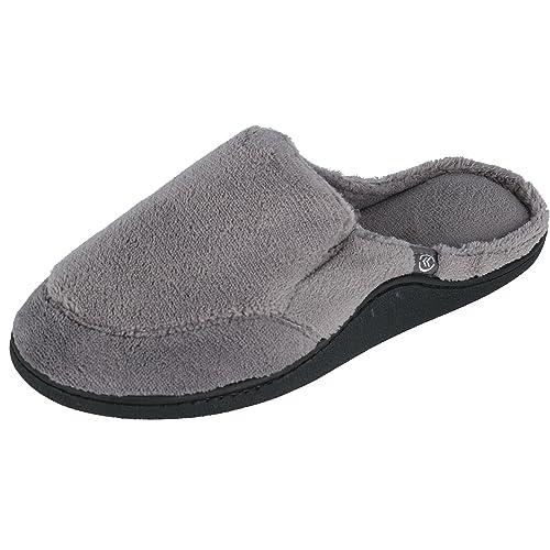 Isotoner Zapatillas de Zueco Abierto de Microterry para Hombre: Amazon.es: Zapatos y complementos
