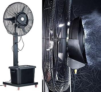 Sichler profesional ventilador de pie con niebla función: Amazon ...