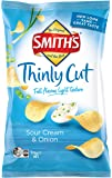 Thinly Cut Cheese and Onion Potato Chips (Pack of 12)