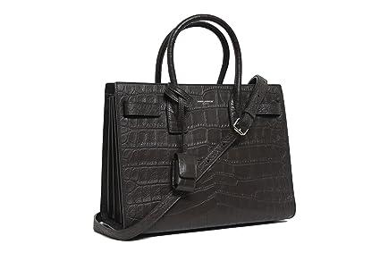 368f78d2 Amazon.com: YSL Saint Laurent Small Sac De Jour Tote Bag in Grey ...