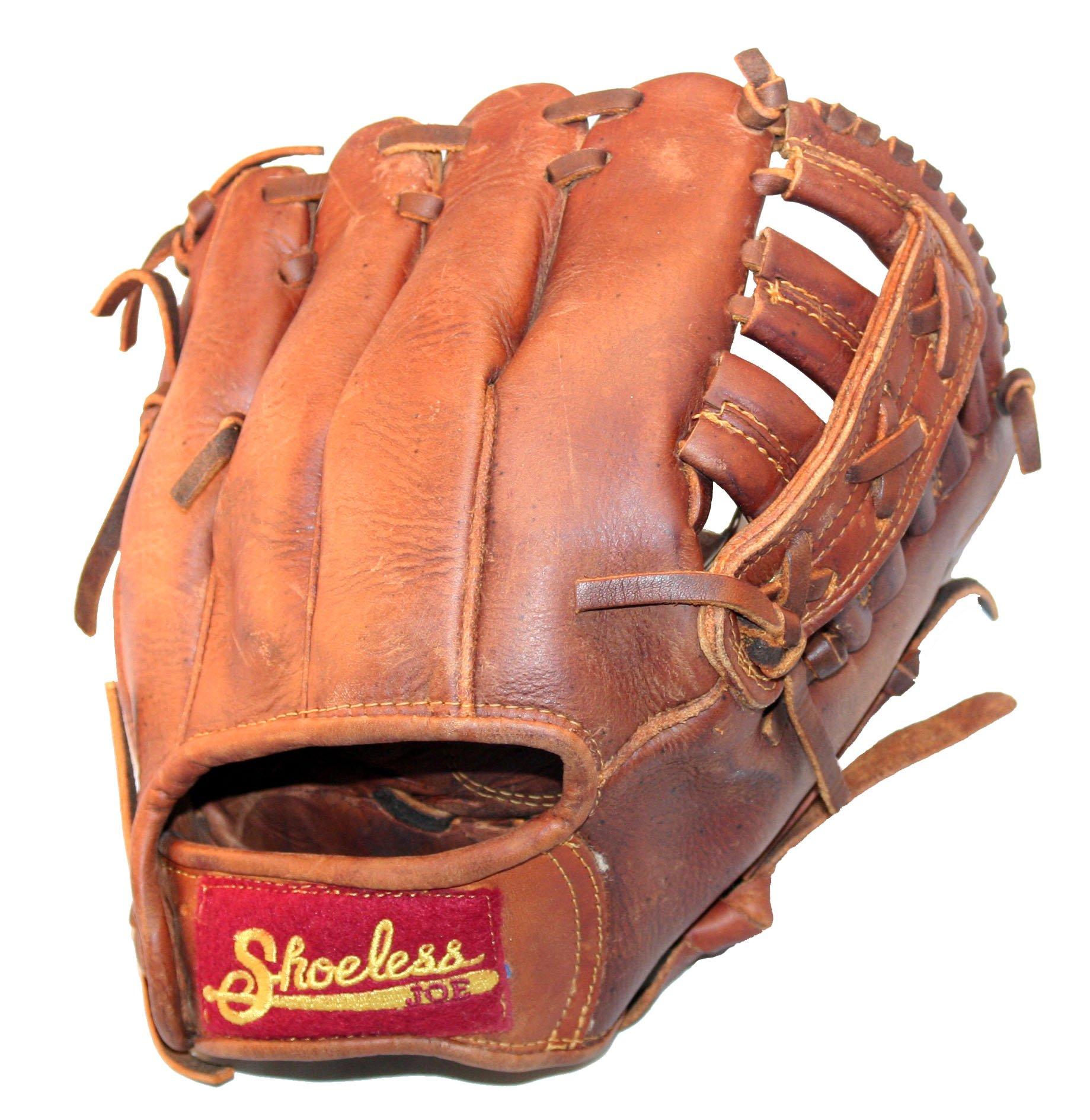 Shoeless Joe 100% Leather Baseball Gloves (9'', Left Hand Throw)