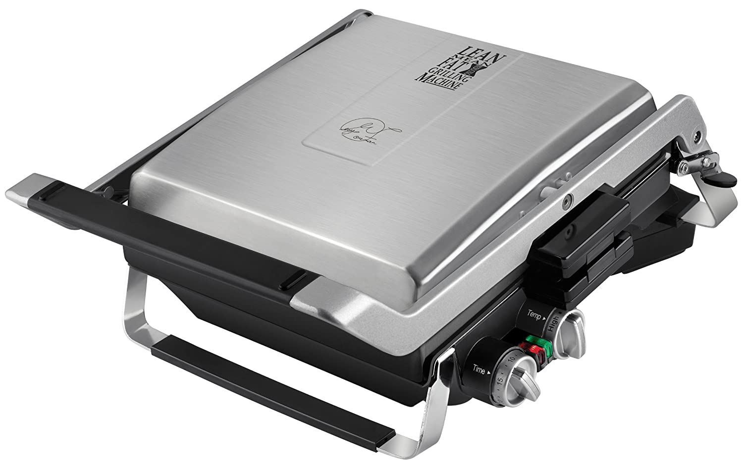 George Foreman GRP100 The Next Grilleration G100 Stainless-Steel Nonstick Countertop Grill
