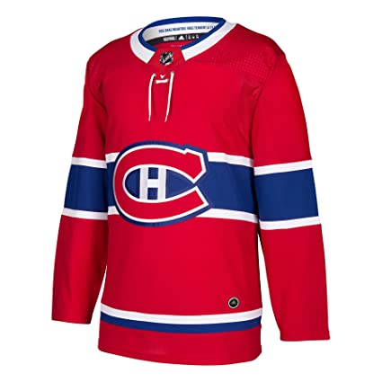 c46db4065 adidas Canadiens Home Authentic Pro Jersey - Men s Hockey 42 Red Blue White