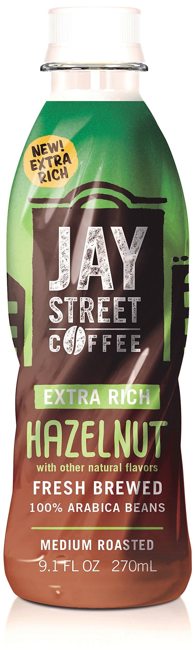 Jay Street Coffee, Extra Rich Hazelnut, 9.1 Ounce (Pack of 12) by Jay Street Coffee