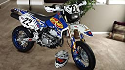 Amazon.com: Suzuki FMF Blue Drz400 Drz400s Drz400sm Graphics Kit Drz