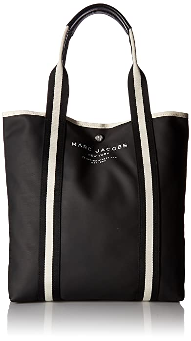 c7eac8507cd Buy Marc Jacobs Women's Canvas Shopper Ns Tote, Black Online at Low ...