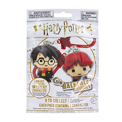 Paladone PaladoneGIFPAL191 Warner Brothers Harry Potter Backpack Buddies | Series 1 | Mystery Bag for 1 Random Character | Collectable Novelty Gift Fun, Multi-Colour: Toys & Games