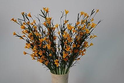 Decorazioni Matrimonio Arancione : Dyf erba di bolla magnolia fiore di simulazione decorazioni per