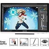 "Huion GT-220 V2 (Argento) 21.5 ""Display a penna Monitor grafico IPS Interactive Monitor per Windows e Mac"