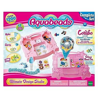Aquabeads Ultimate Design Studio Playset: Toys & Games