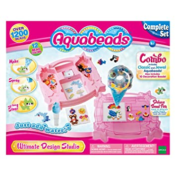 Amazoncom Aquabeads Ultimate Design Studio Playset Toys Games