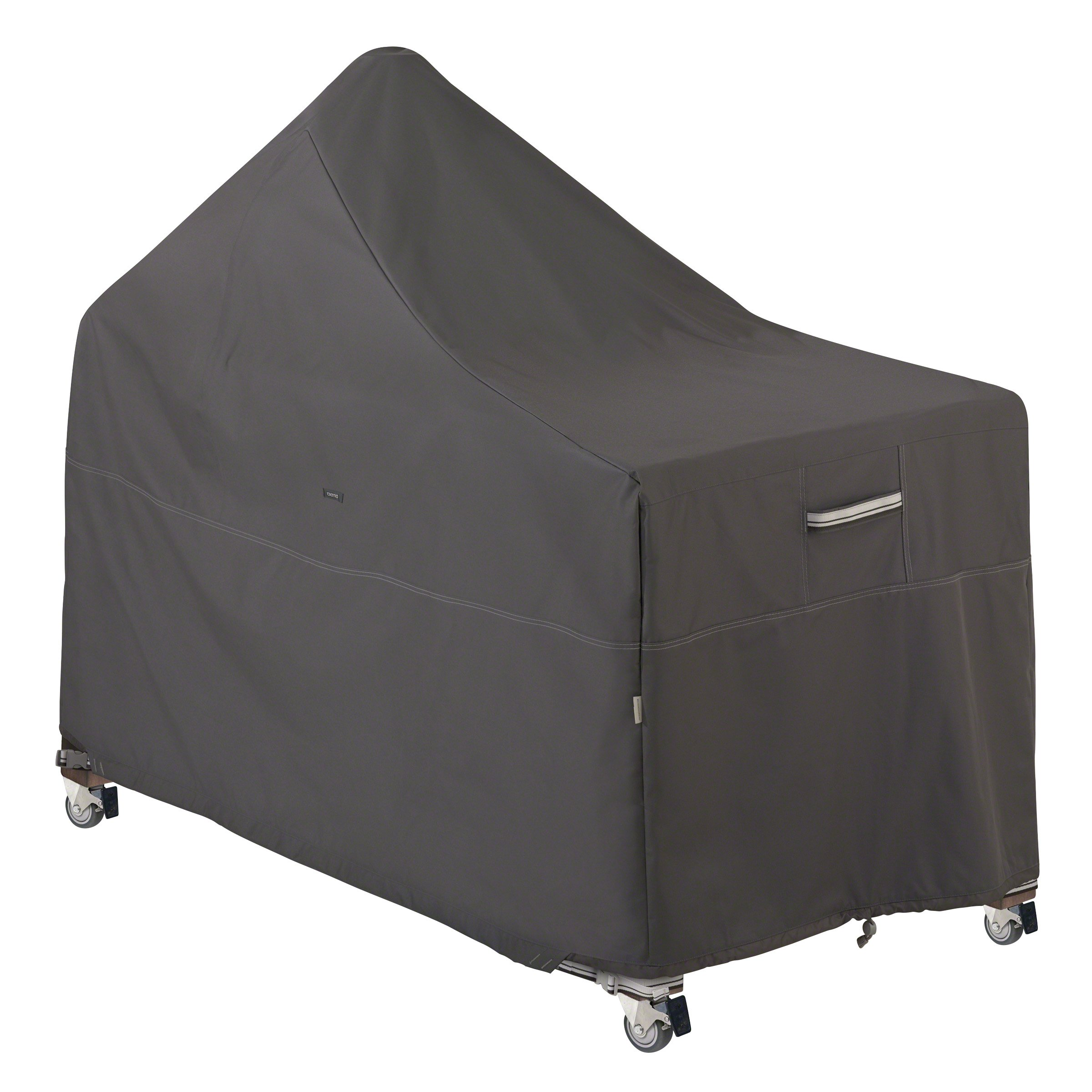 Classic Accessories Ravenna Kamado Ceramic Grill with Offset Table Cover - Premium Outdoor Grill Cover with Durable and Water Resistant Fabric (55-420-015101-EC) by Classic Accessories (Image #1)