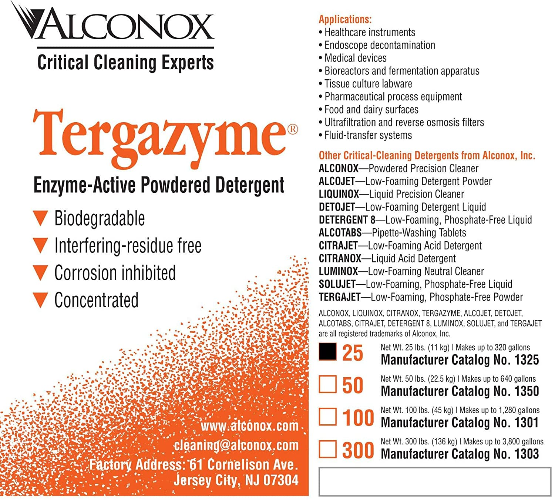 Amazon.com: alconox 1325 tergazyme aniónicos detergente con ...