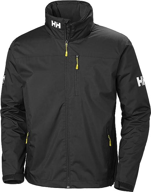 Helly Hansen Crew Hooded Midlayer - Chaqueta Impermeable, Cortavientos y Transpirable para Hombre, con Forro Polar y Capucha Integrados Hombre