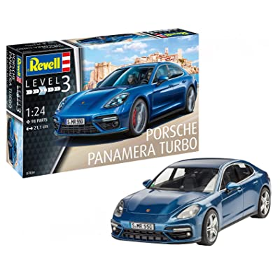 Revell 07034 Porsche Panamera 2 Model Kit, 1:24 Scale 21 cm: Toys & Games