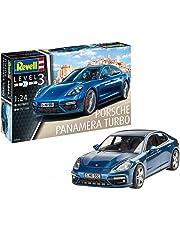 Revell Maqueta Porsche Panamera Turbo, Kit Modelo, Escala 1:24 (07034)