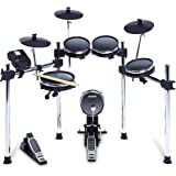 Alesis Surge Mesh Kit | Eight-Piece Electronic Drum Kit with Mesh Heads | 40 Kits, 385 Sounds, 60 Play-Along Tracks | USB/MID
