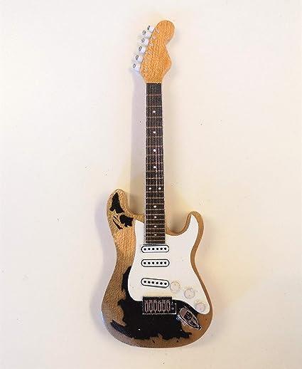 John Mayer – Fender guitarra Stratocaster negro 1 – Llavero y imán Variación (vendedor del Reino Unido): Amazon.es: Instrumentos musicales