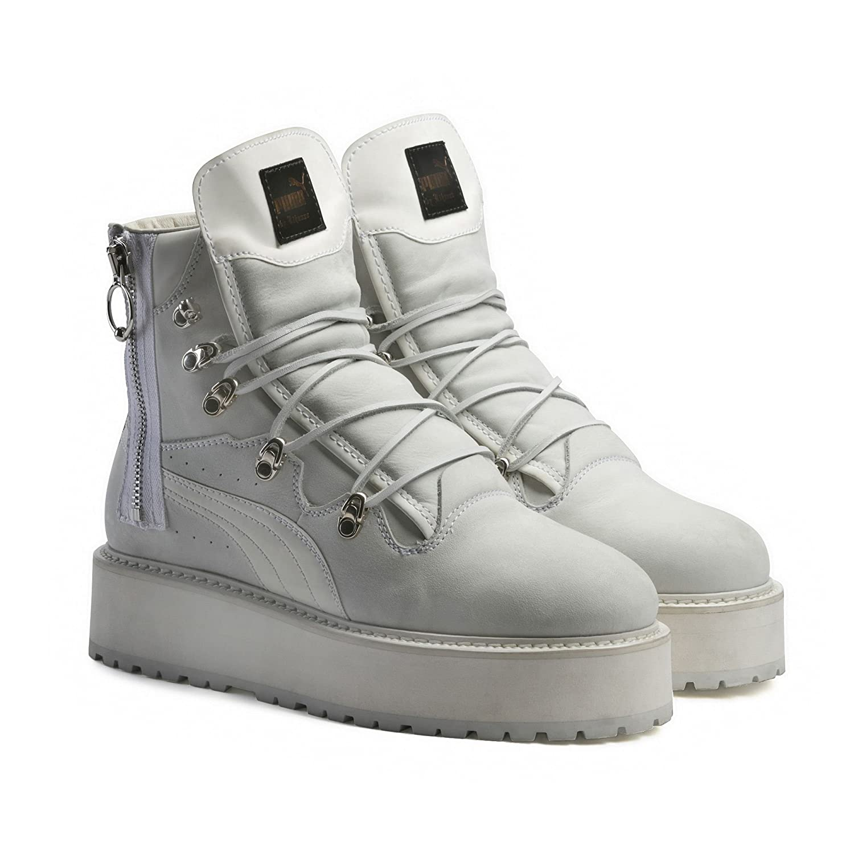 Puma Fenty by Rihanna Adult s Zapatillas Boots (363475), Puma White/Puma White/Puma White: Amazon.es: Deportes y aire libre