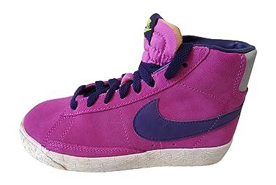 Nike Blazer Mi Haut Rose Baskets Garçons