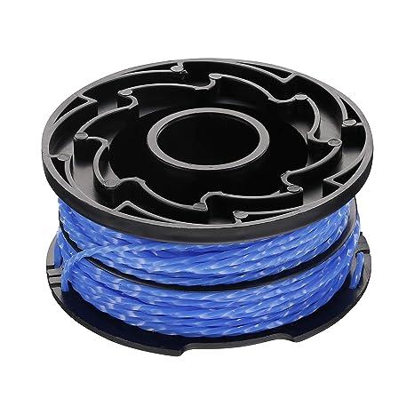 BLACK+DECKER A6441X3-XJ - Hilo de nylon para cortabordes eléctrico ...
