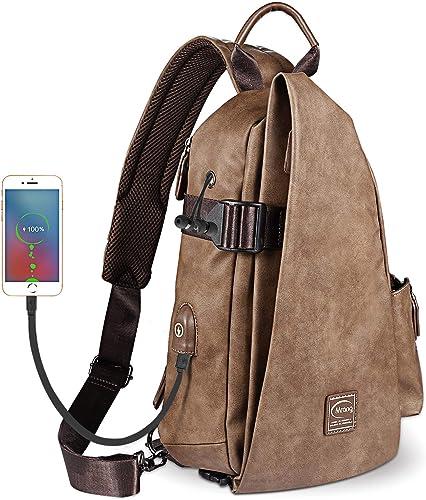 Sling Bag Cross Body Multipurpose Daypack Shoulder Chest Bag
