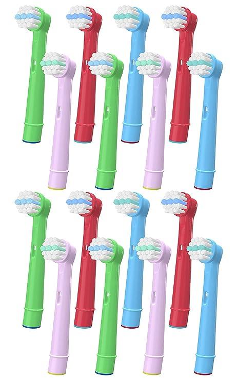 YanBan - Cabezales de repuesto para cepillo de dientes infantil Oral ...