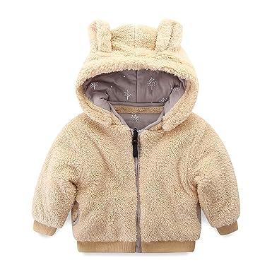 87260cbf47e4 Amazon.com  Mud Kingdom Little Boy Fleece Jacket with Hood Ear ...
