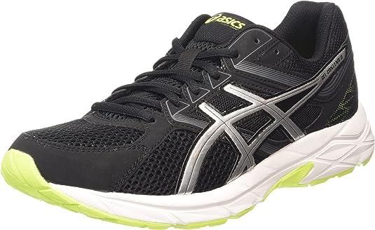 ASICS - Gel-Contend 3, Zapatillas de Running Hombre, Gris (Onyx/Silver/Flash Yellow 9993), 44 EU: Amazon.es: Zapatos y complementos
