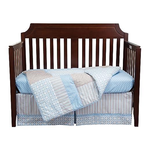 Amazon.com: Tendencia Lab Logan Cuna Ropa de cama (3 piezas ...