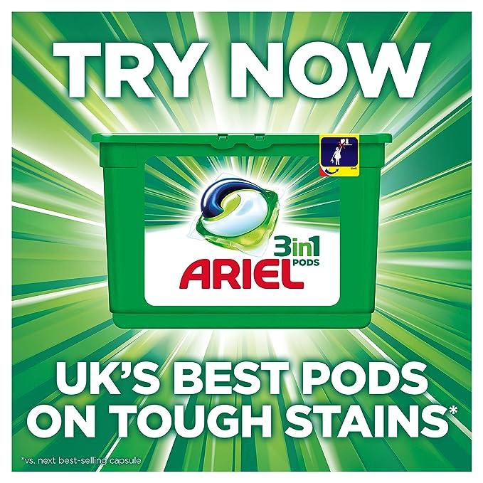 Ariel lavado líquido Original lavados, 1955 ml, pack de 3: Amazon ...
