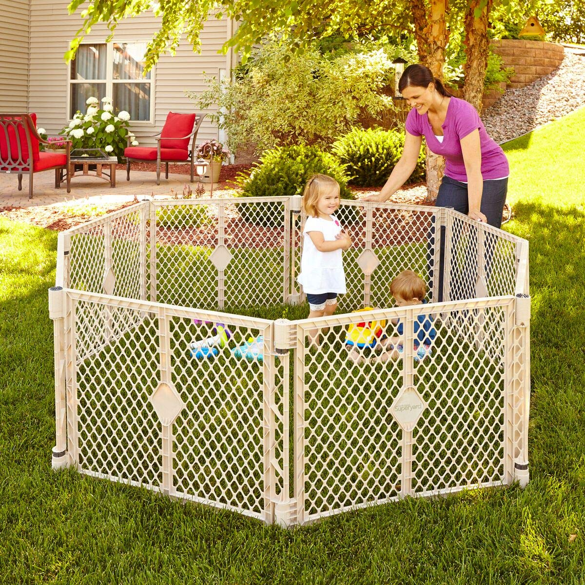 Best Outdoor Play Yards For Toddlers Amazon Com