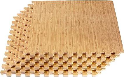 HYSA MAT Interlocking Garage Tiles,12.5 x 12.5 inch PP Non-Slip Flooring Deck Drainage Mats for Basement Swimming Pool Bathroom Boat Wet-Area,Grey,9-Pack