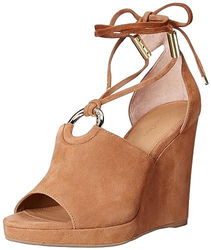 4ab98519927 Calvin Klein Women's Ramona Wedge Sandal