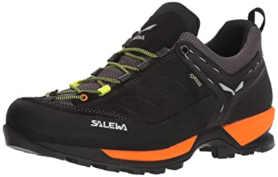 Salewa Mens Mountain Trainer GTX, Black Out/Holland 7 ...