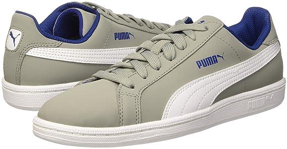 Puma Jr Smash Fun Buck Baskets Mode, Limestone/Bianco, 35.5: Amazon.fr:  Sports et Loisirs