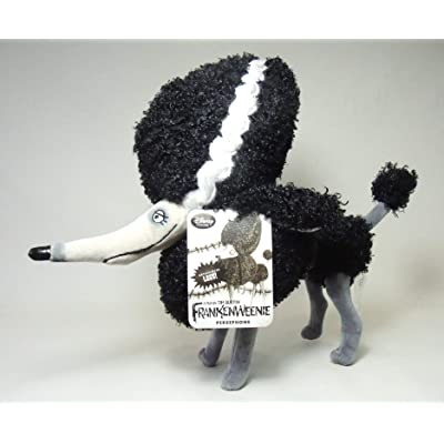 "Disney / Tim Burton Frankenweenie "" Persephone "" Dog Plush Doll 12 Inches Long: Toys & Games"