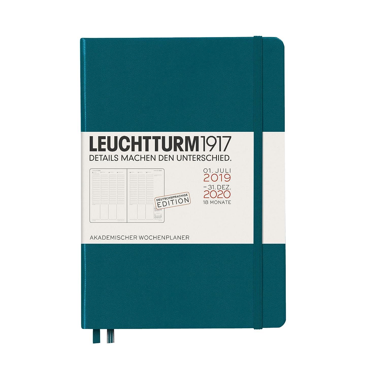 18 Monate Akademischer Wochenplaner 2020 Hardcover Medium Marine A5 Deutsch