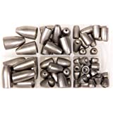 Bullet Weights Ultra Steel Bullet Weights Sinker Kit (Natural, 60 Piece Kit)