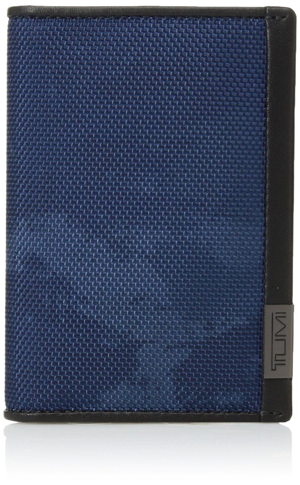 TUMI Men's Alpha ID Lock Multi Window Card Case, Navy Restoration, One Size