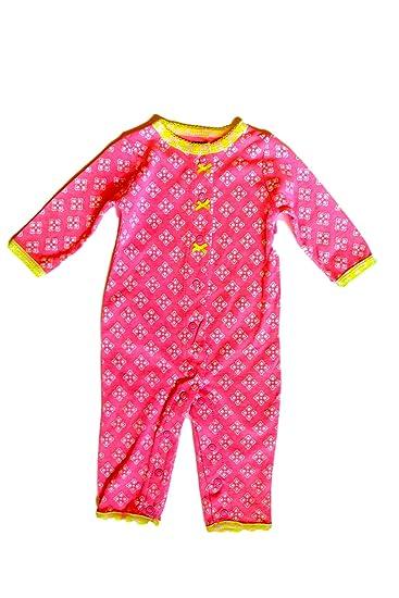 4d8802b81 Amazon.com  Carter s Baby Girls  Cotton Snap-Up Footless Sleep ...
