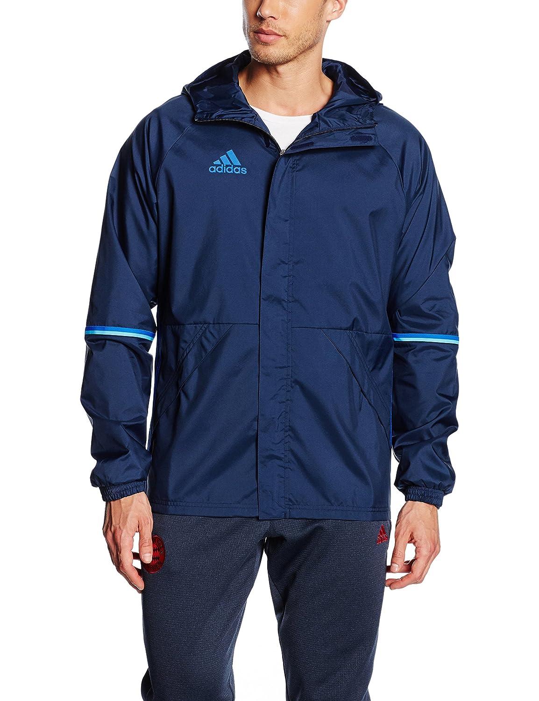 adidas Adult's/Anoraks CON16RN Jacket–Grey–Black/Vista S15, XLT AN9862 AC4407230230