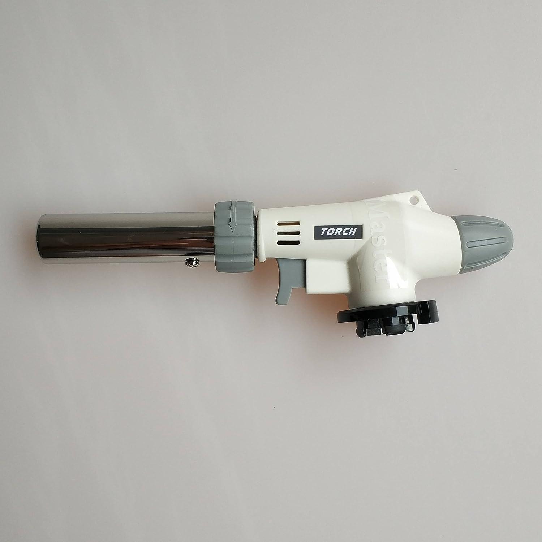 Mini chalumeau torche au butane, chalumeau à gaz pistolet à flamme auto-allumage, pour le soudage (XS-902) chalumeau à gaz pistolet à flamme auto-allumage TywelMaster