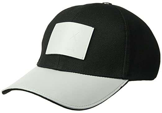 Amazon.com  Armani Exchange Men s Logo Patch Hat fded5120508