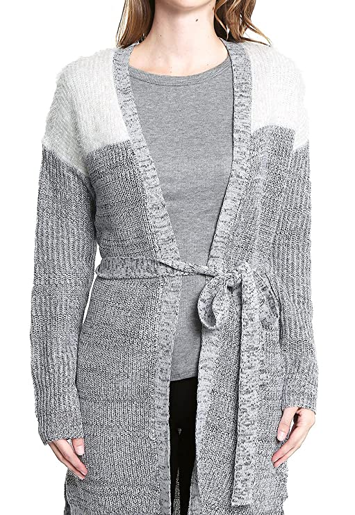 Simple People Suéter Abierto Gris Sueter para Mujer Gris Talla XL   Amazon.com.mx  Ropa 9b22e305db9d