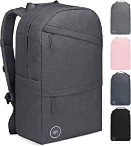 Simple Modern Legacy Backpack with Laptop Compartment Sleeve - 15L Travel Bag for Men & Women College Work School -Graphite