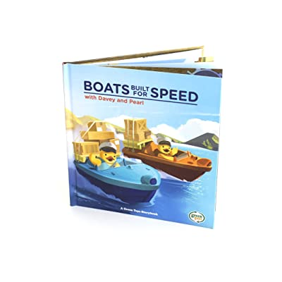 Green Toys Boats Built for Speed with Davey & Pearl Book: Toys & Games
