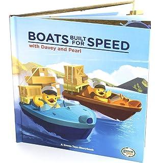 Green Toys Train Off The Rails Book BKTN-4340