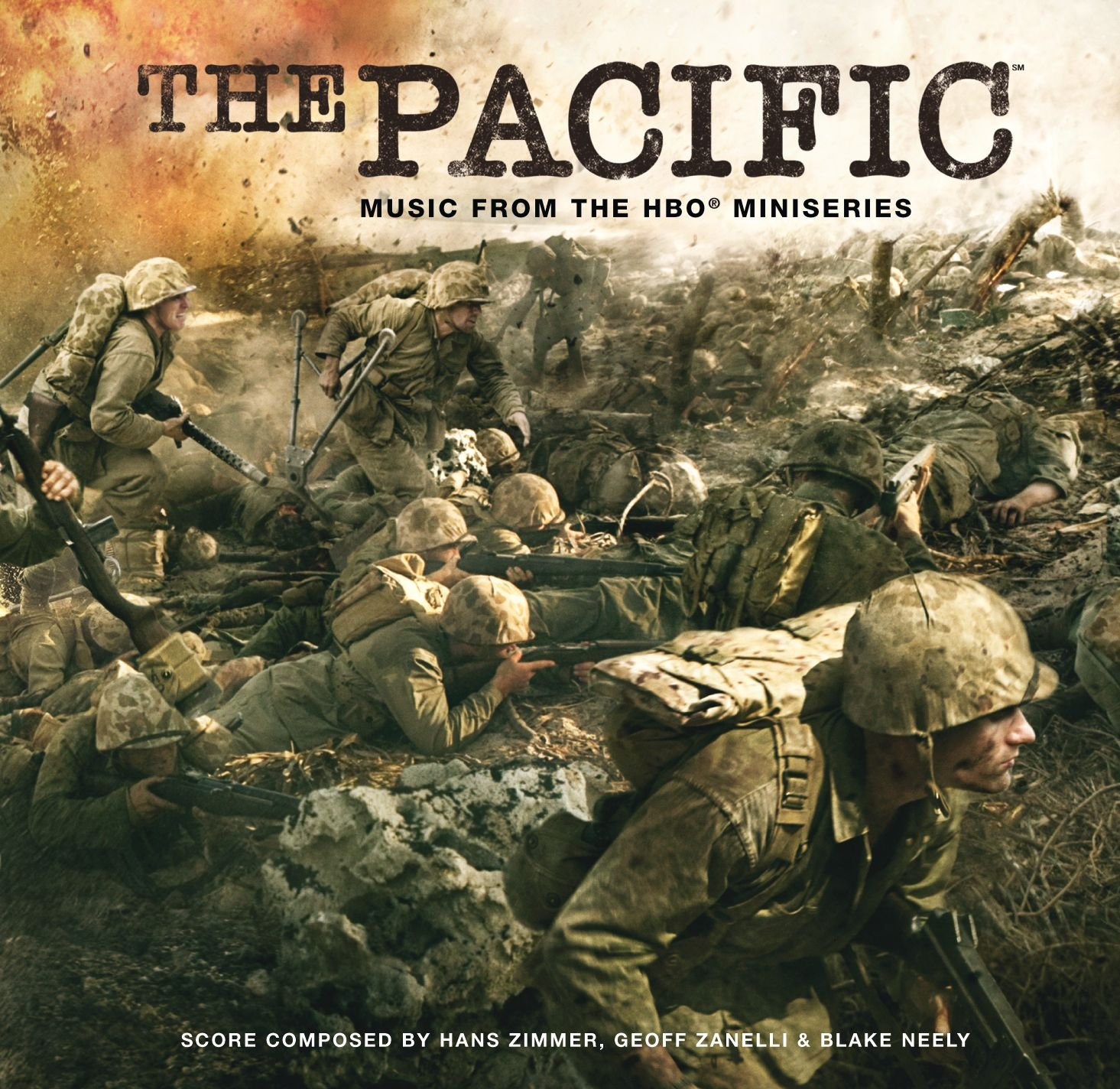 Hans Zimmer, Geoff Zanelli, Blake Neely - The Pacific: Music From ...